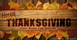 Happy Thanksgiving to All of My Readers