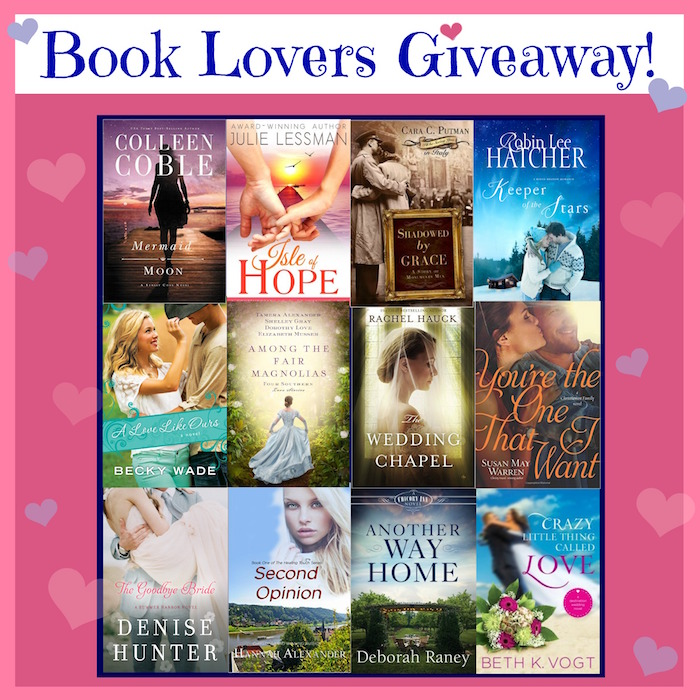 Book Lovers Giveaway