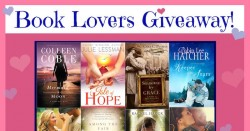 Book Lovers Giveaway for Valentine's Day