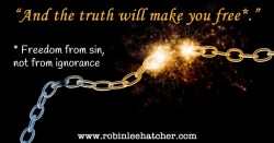 Bible Pondering: Truth and Freedom