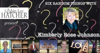 Kimberly Rose Johnson and 6 Random Things (with a giveaway)